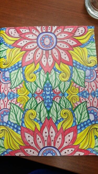 Kaleidoscope Wonders Color Art Book Creative Haven Coloring Books Pattern Art Colorful Art