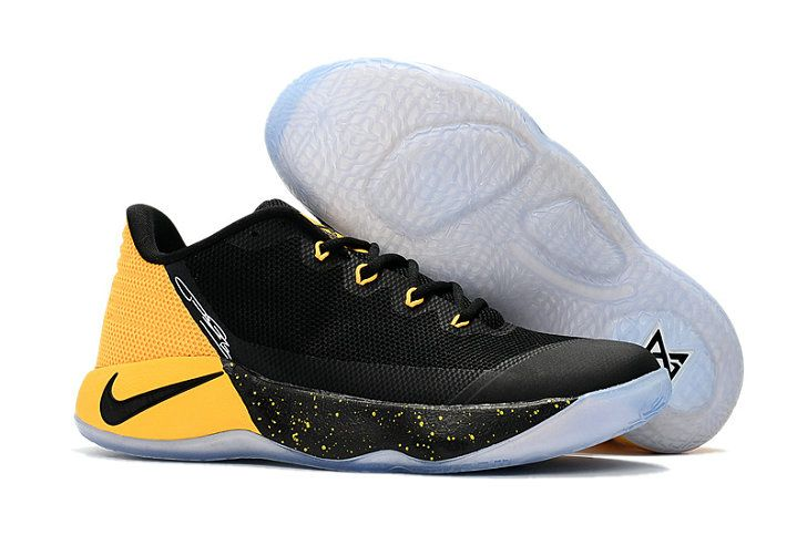 Nike Zoom PG 2 Shop with Confidence Nike PG 2 Black Yellow Basketball Shoe  For Big
