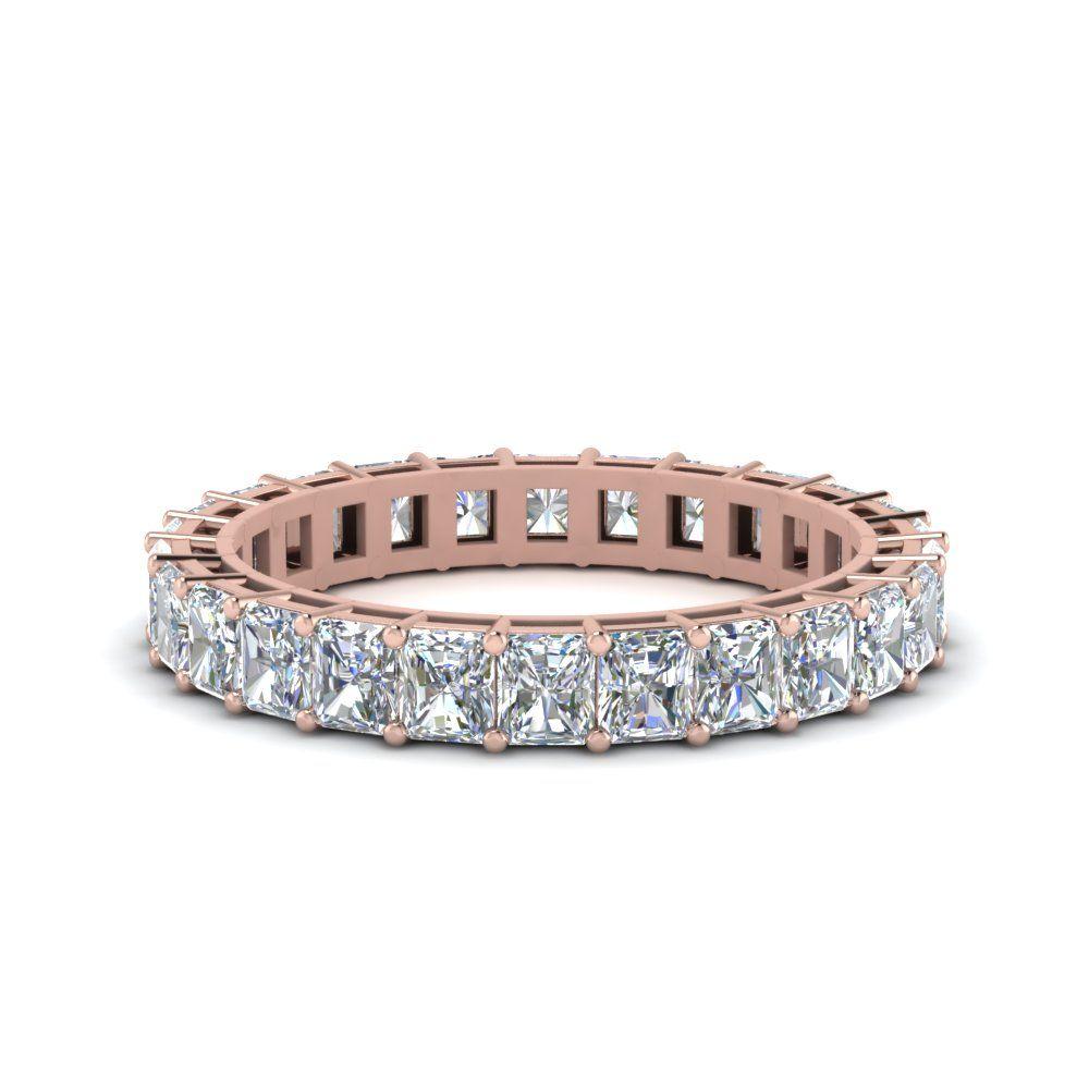992d366b56a27d Radiant Cut Diamond Eternity Ring 2 Carat | WEDDING RINGS | Eternity ...