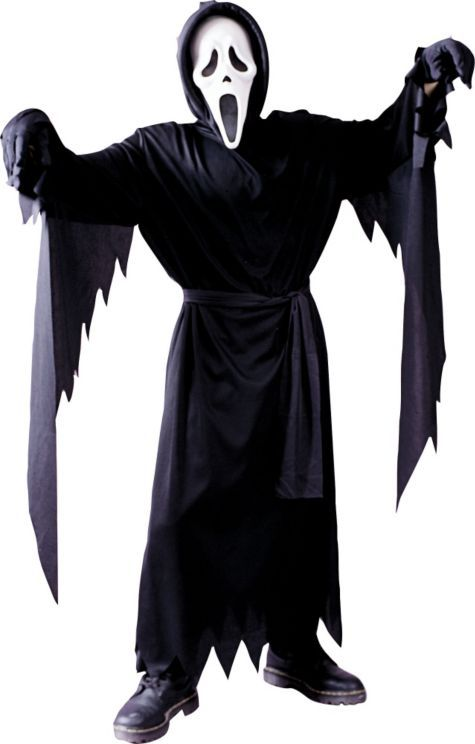 Boys Ghost Face Costume , Scream , Party City