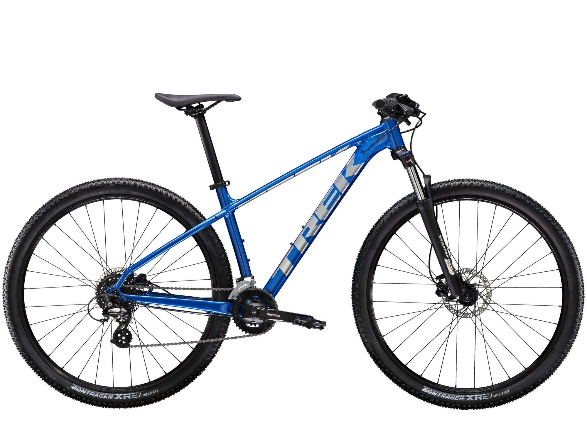 021 Trek Marlin 6 Mens Hardtail Mountain Bike In Alpine Blue In 2020 Hardtail Mountain Bike Trek Mountain Bike Bike