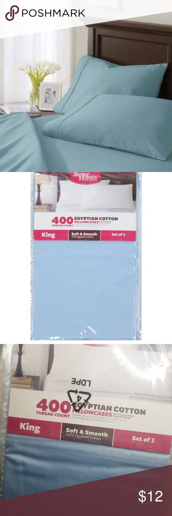 4c8302cae65d20106d855e3619f4054a - Better Homes And Gardens 400 Thread Count Solid Egyptian Cotton
