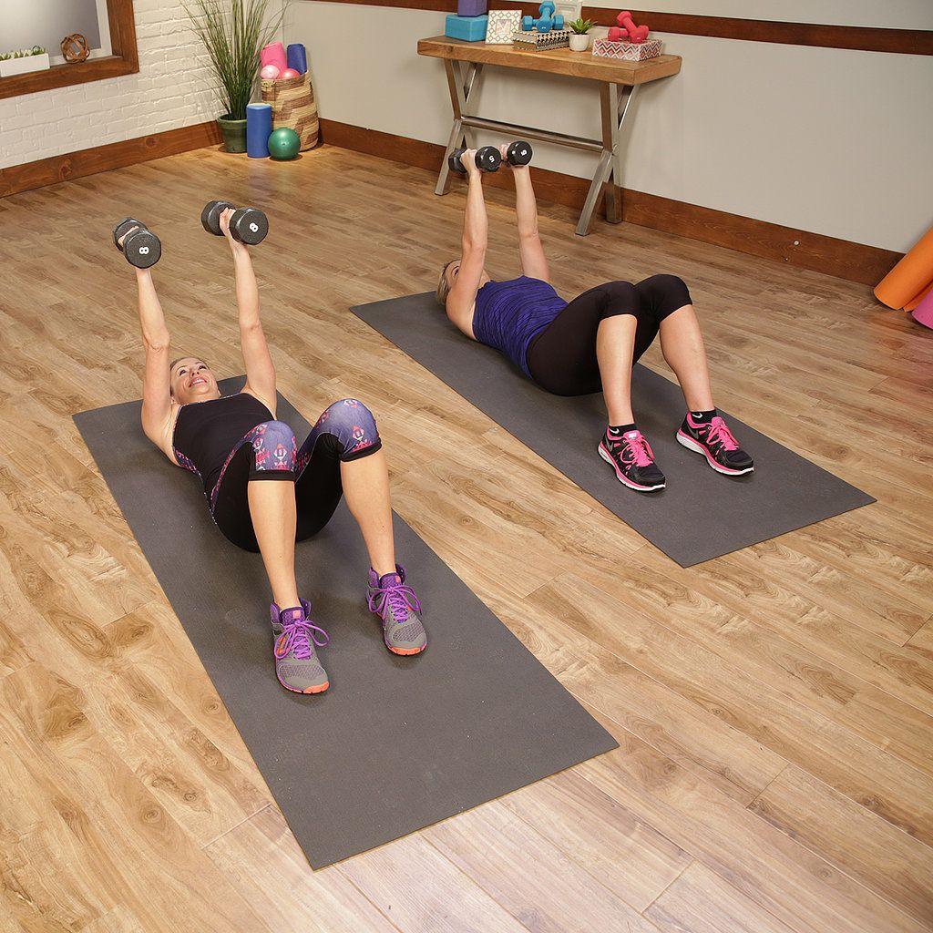 Упражнения на полу с картинками