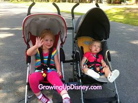Growing Up Disney: A Double Stroller with Options for Walt Disney World