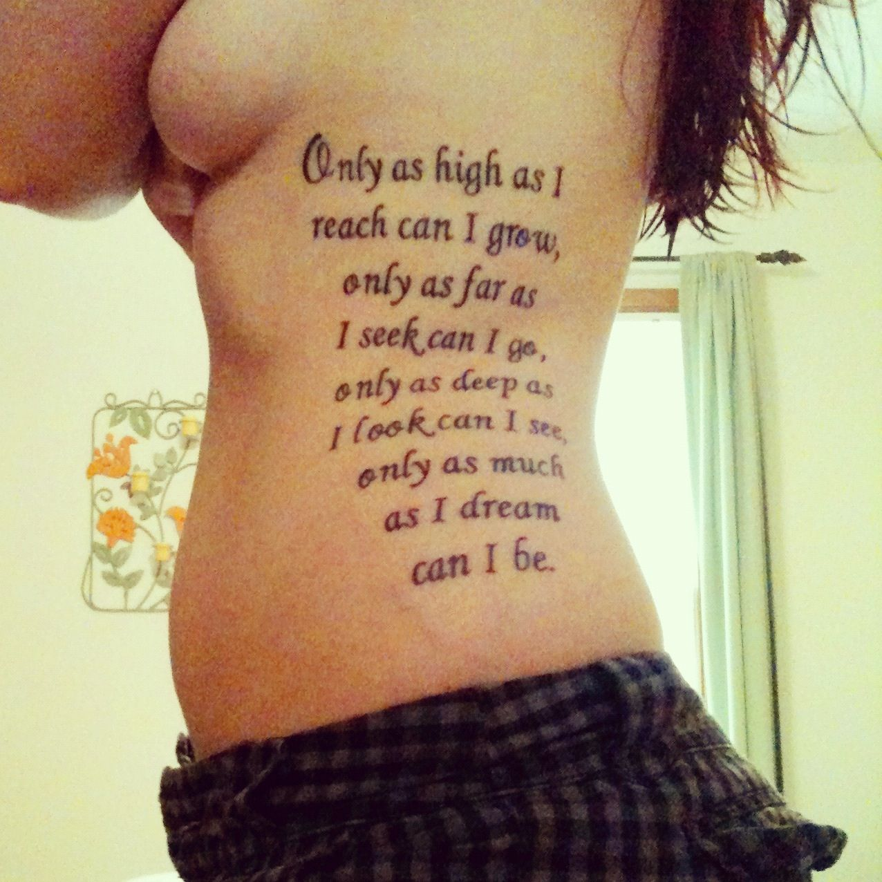 Tattoo Quotes About Love: HATE Tattoo LOVE Quote!