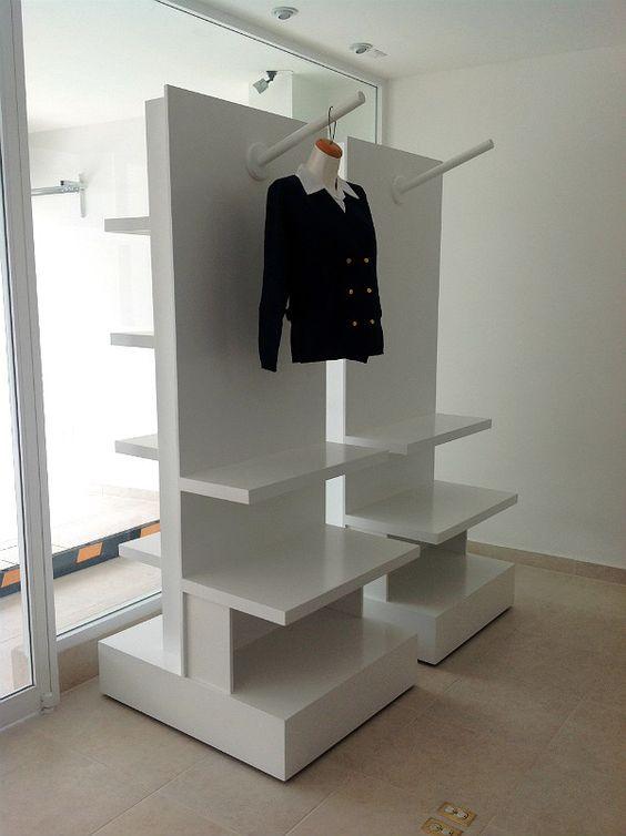 Resultado de imagen para diseño de exhibidores para ropas