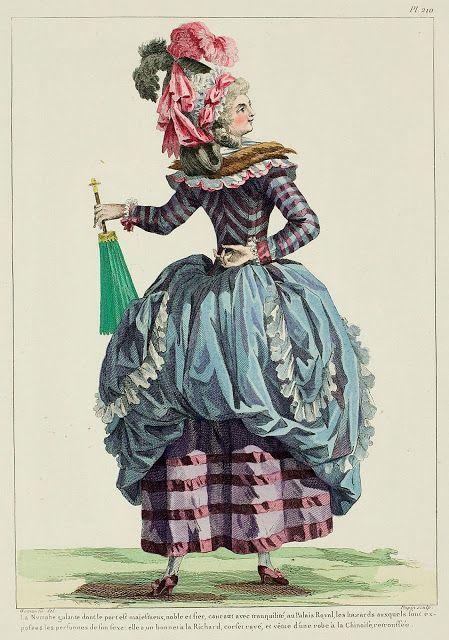 Galerie des Modes, 46e Cahier, 5e Figure