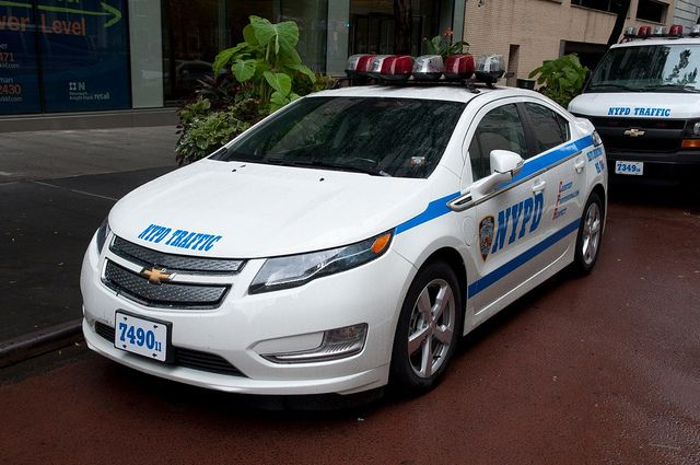 The Volt A Plug In Hybrid Police Cars Chevy Volt Chevrolet Volt