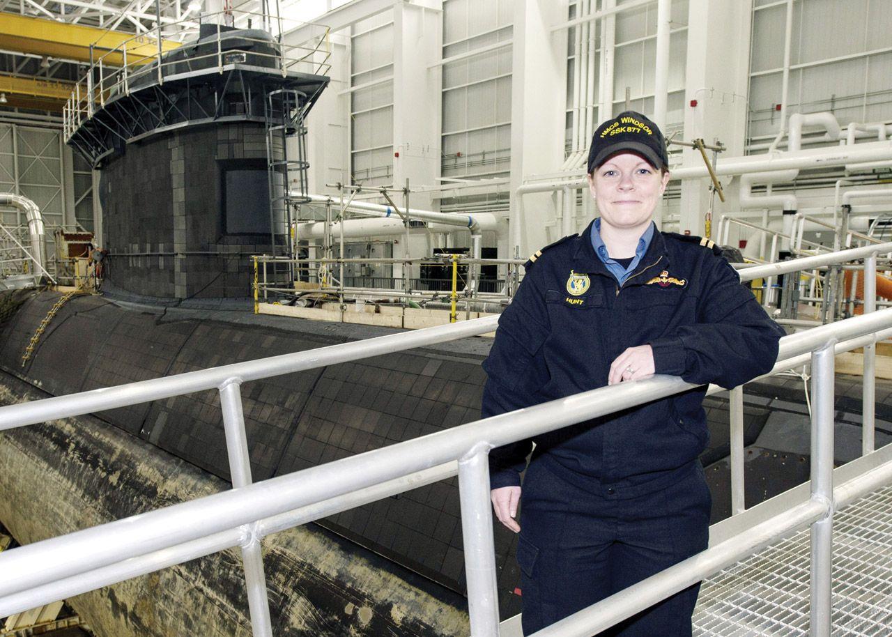 Le lieutenant de vaisseau Ashley Hunt Iconic women