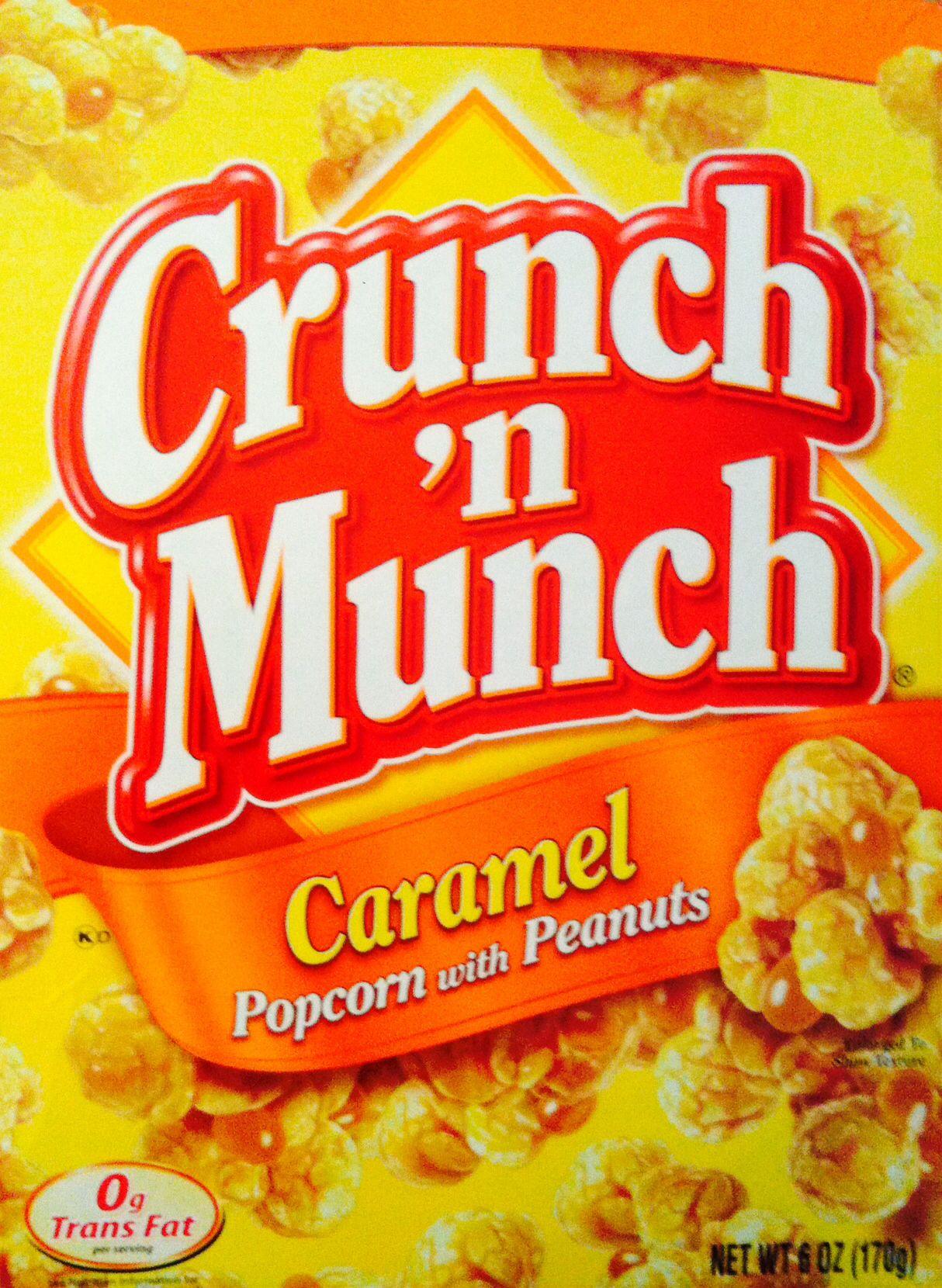 Nicht Unbedingt Typisch New York Aber In Jedem Gut Sortierten Duane Reade Erhaltlich Das Leckerste Popcorn Crunch N Caramel Popcorn Peach Syrup Salty Snacks