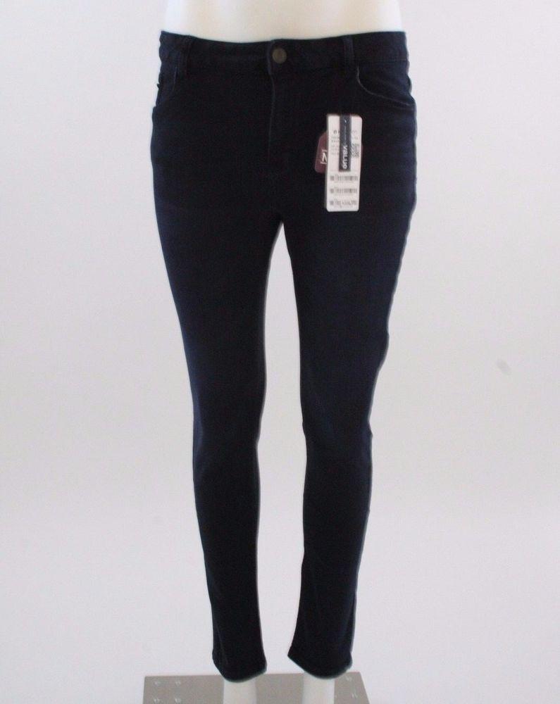 New Ladies washed Denim Skinny stretch jeans #Hangten #Skinnystretch