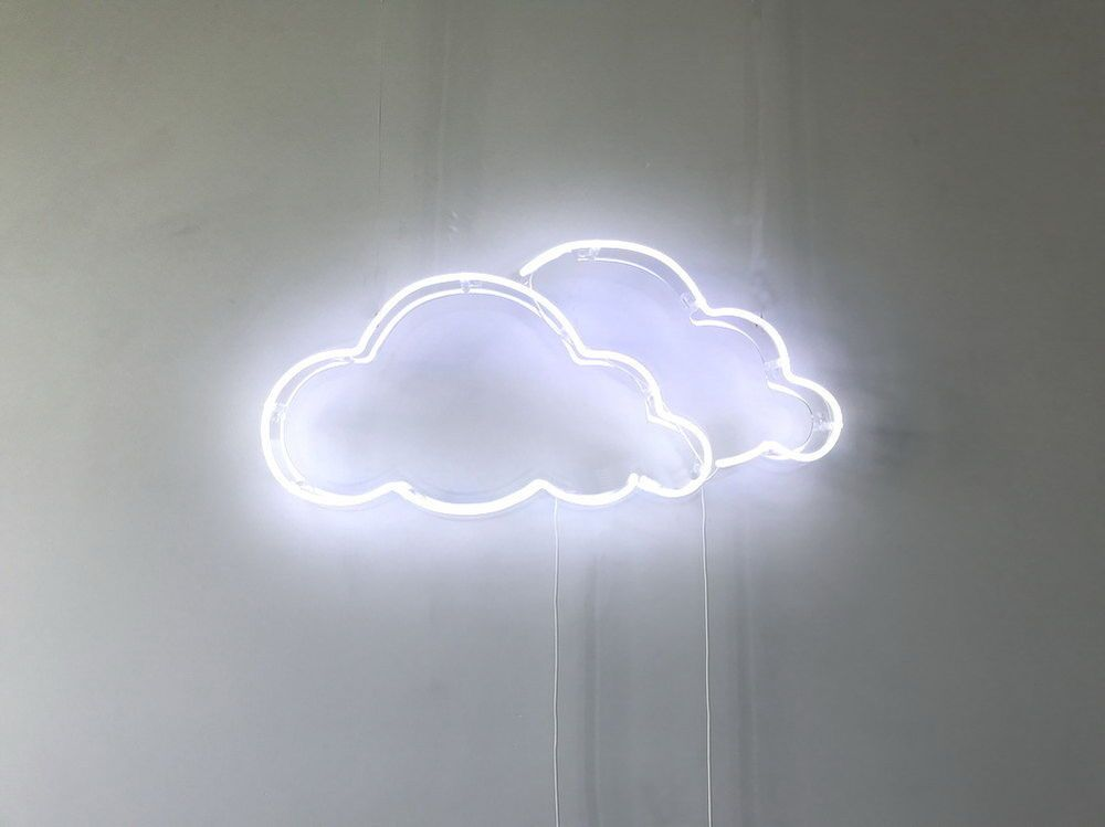 New Clouds Neon Sign For Bedroom Wall Art Decor Home Art With Dimmable Dimmer is part of Retro decor Neon -