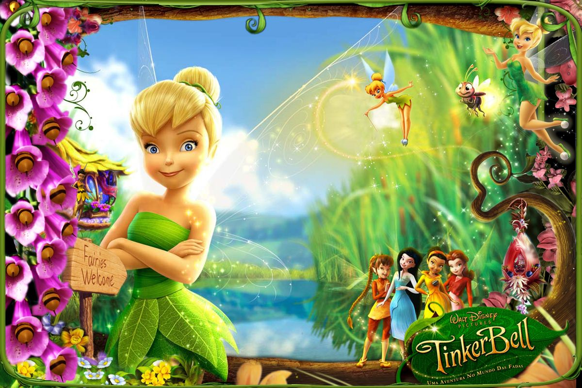 Tinker Bell Invitation was adorable invitation layout