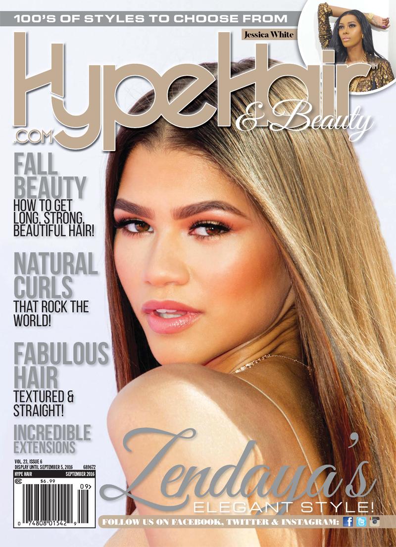 Zendaya On The Hype Hair September 2016