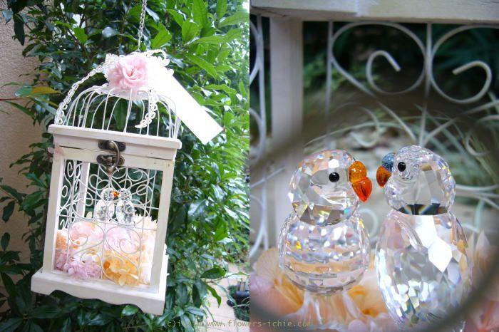 新郎新婦様からのメール  プリザの装花 : 一会 ウエディングの花