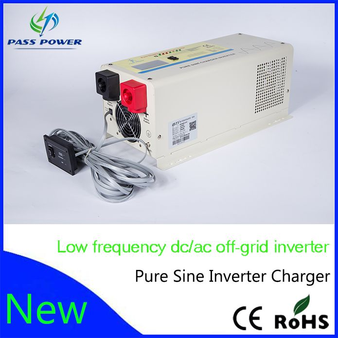 Price For Lcd Led Display Pure Sine Wave Dc To Ac 12v 24v 1500w 1 5kw Inverter With Charger For Factory Solar Power Inverter Power Inverters Off Grid Inverter