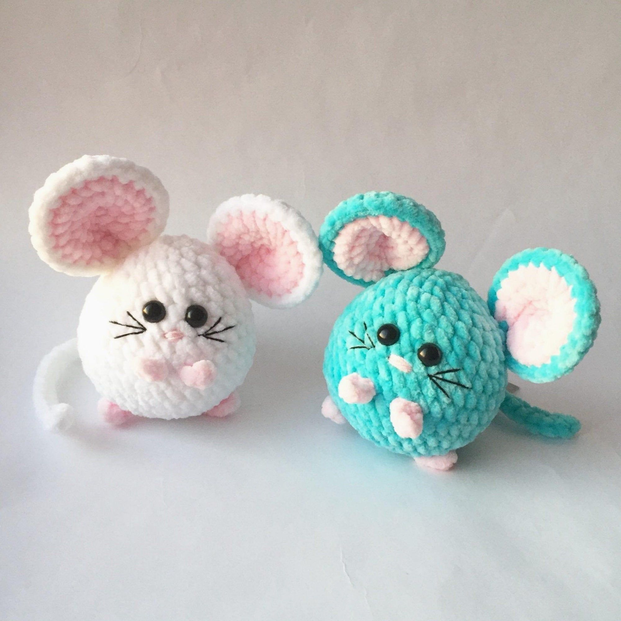 Little Plush mouse toy keychain | Christmas gift |