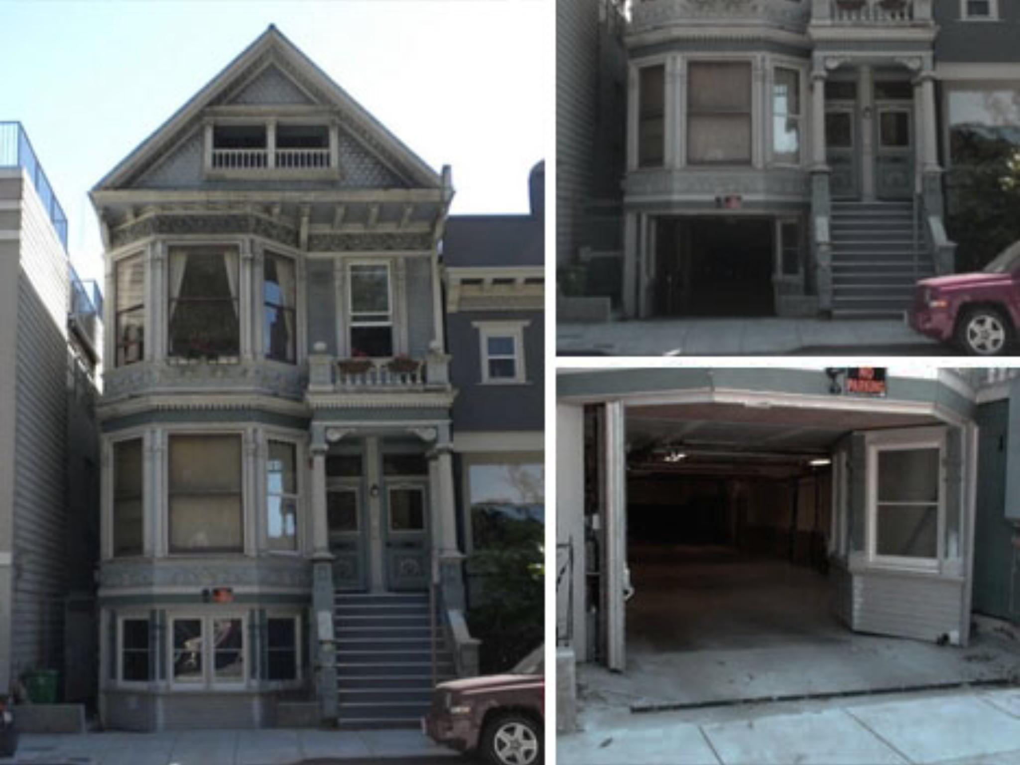 San Francisco California Secret Garage Door Garage Doors