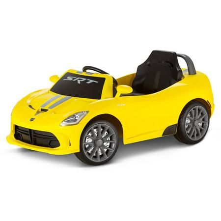 Kid Trax Srt Dodge Viper Gts 6 Volt Battery Powered Ride On