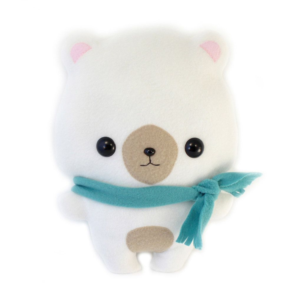 Plushie Sewing Pattern PDF Cute Soft Plush Toy - Coco Bear Stuffed ...