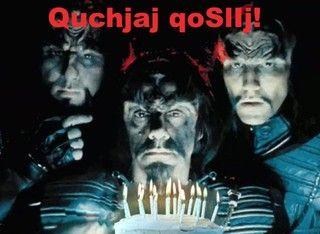 klingon happy birthday Happy Birthday Klingon | Birthdays | Pinterest | Happy birthday  klingon happy birthday