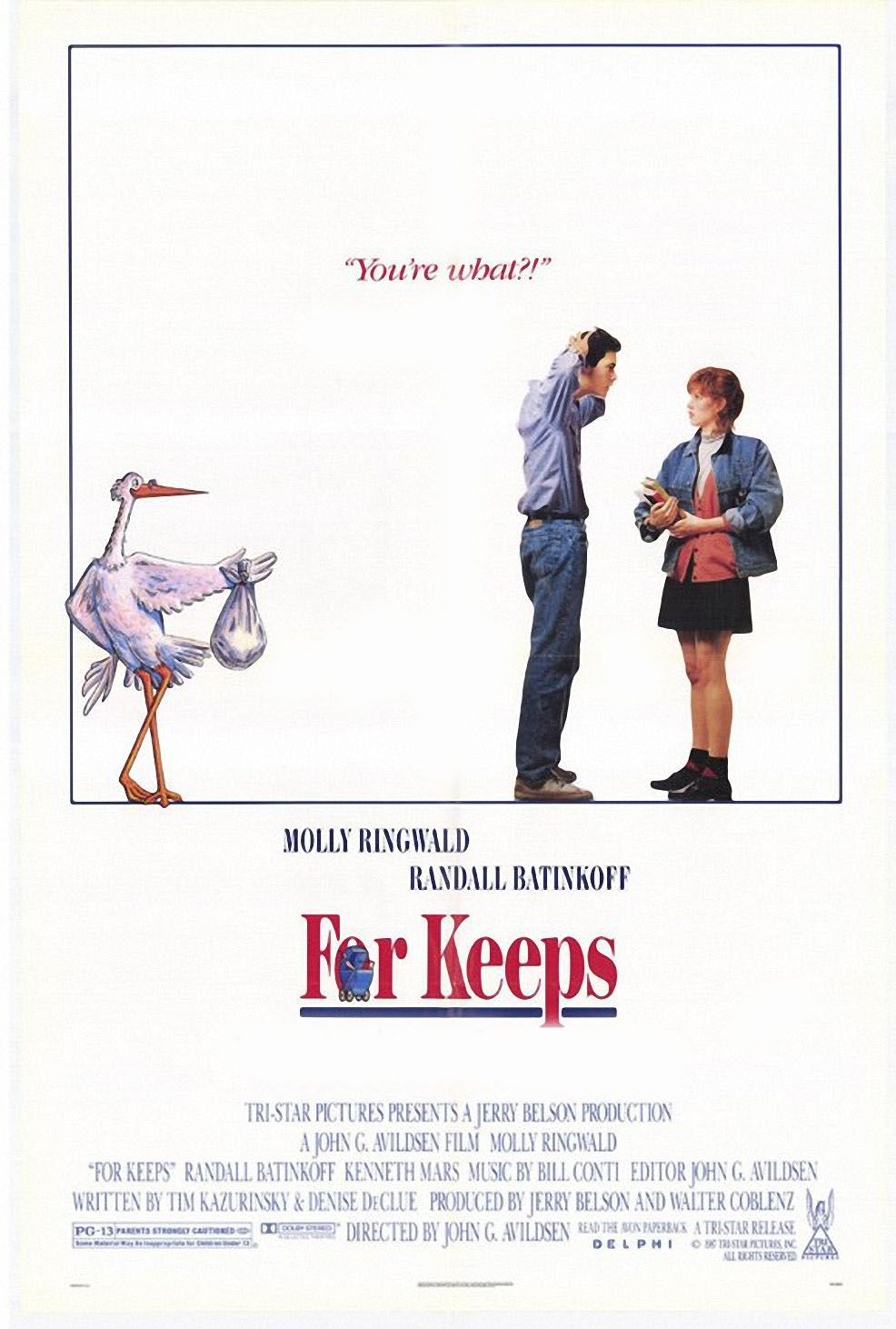 Is Randall Batinkoff Married Stunning for keeps? (1988) stars: molly ringwald, randall batinkoff