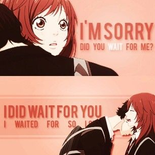 ...It's probably bad I discovered what anime couple this is.