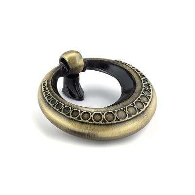 traditional 1 7 8 in 48 mm antique english cabinet ring pull