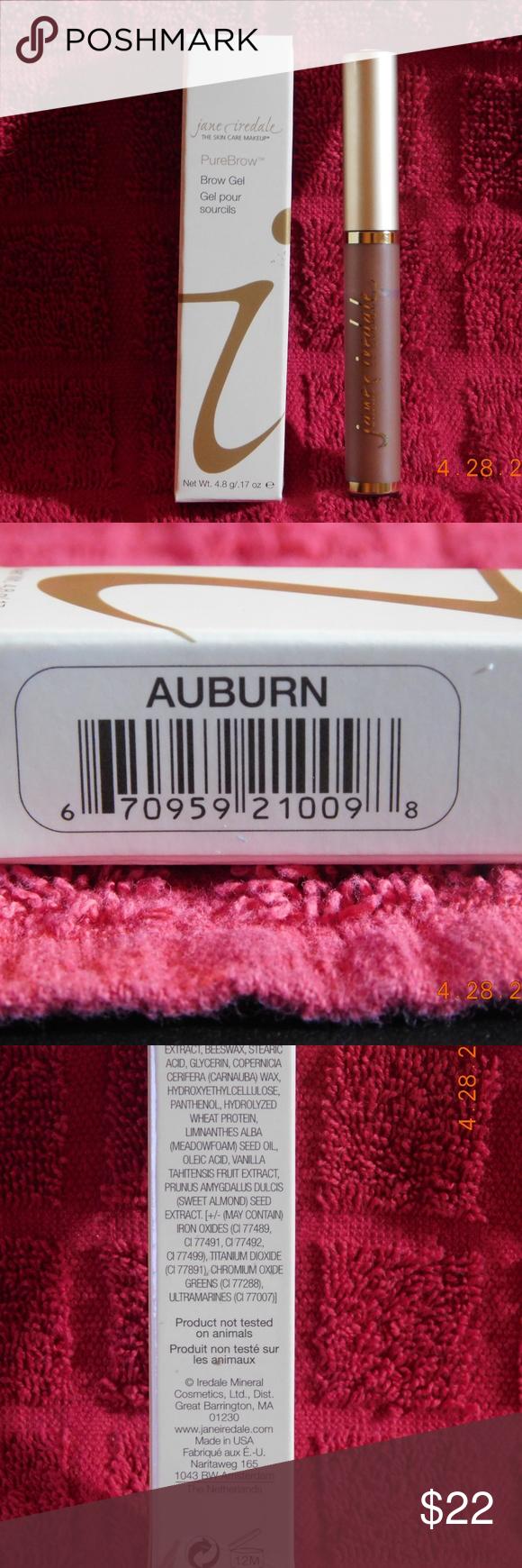 Jane Iredale PureBrow Brow Gel Auburn PureBrow Brow Gel