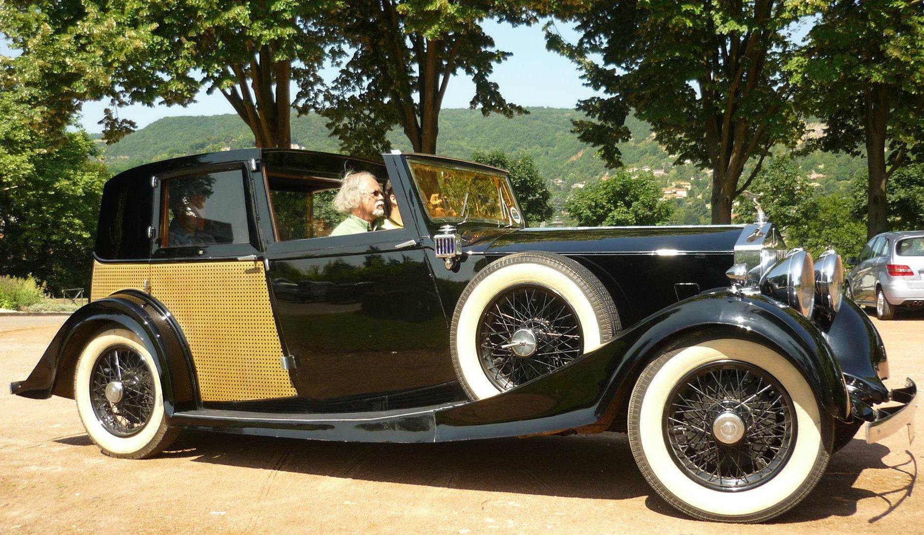 1936 Sedanca de Ville by Barker (chassis GTL23)