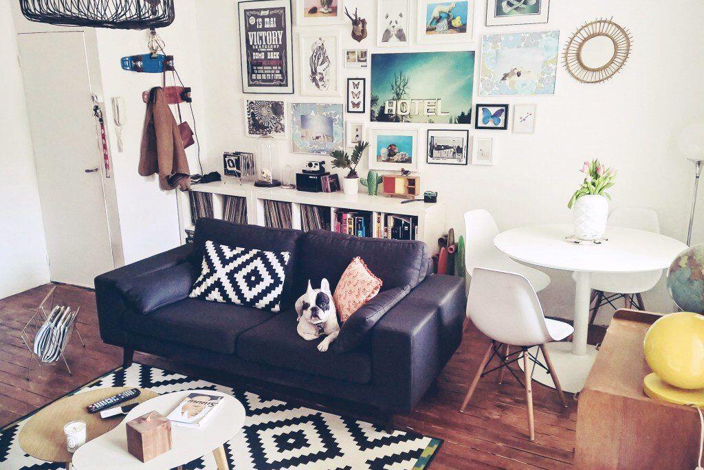 s jour entre allure vintage et retro scandinave mur de. Black Bedroom Furniture Sets. Home Design Ideas