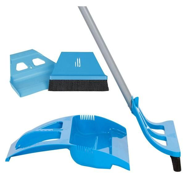 Cleaning Reimagined The First One Handed Pull Broom Best Broom Broom Dustpan Best Shark Tank Products
