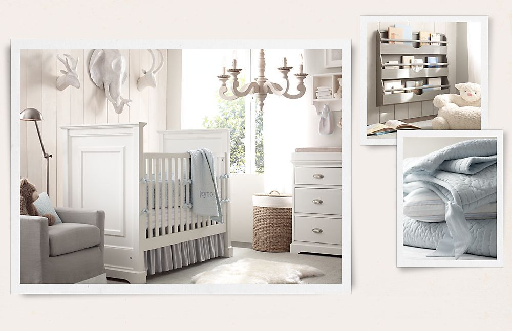Gorgeous Neutral White Restoration Hardware Baby Child The