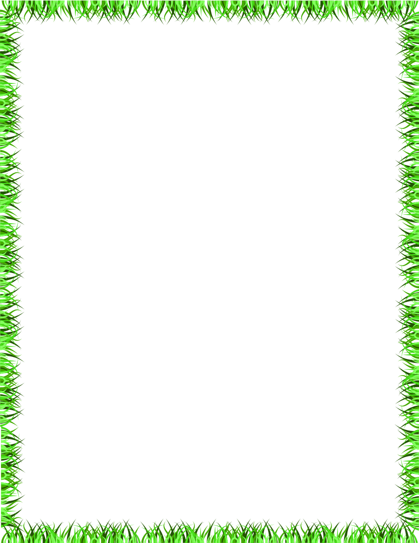 Border page http www wpclipart com page frames more frames for Best grasses for borders