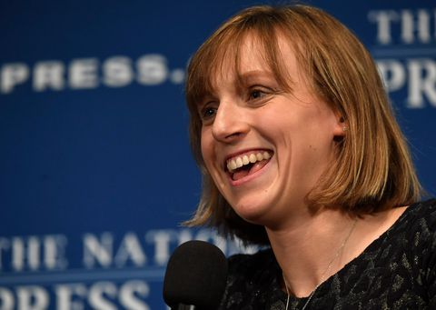 At the top of her game Katie Ledecky wades into pool of potential endorsements