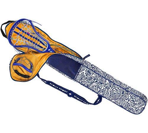 Monogrammed Zip It Rip Lacrosse Stick Bag By Scout Honey Blue 57 00