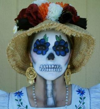 Day of the Dead, MUA and Model, @Leah, awesome job