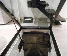 enp metal trappe d 39 acc s pour cave bricolage pinterest cave metal et id es loft. Black Bedroom Furniture Sets. Home Design Ideas