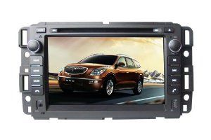 7 Inch 2 Din Car Dvd Player For Buick Enclave 2007 2012 Dvd Gps Rds Ipod Bt Analog Tv Remote Control Rear Reviewing Function B Car Stereo Gps Navigation Car