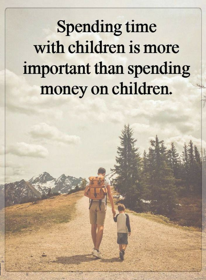 Quotes Spending Time With Children Is More Important Than Spending