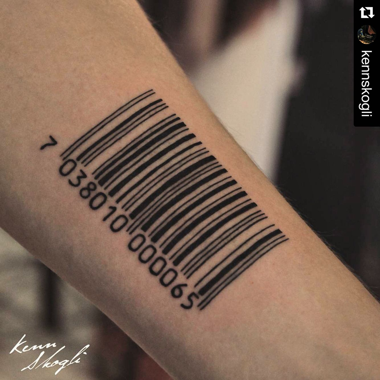 tattoo barcode desires of the skin pinterest tattoo tatoo and tattos. Black Bedroom Furniture Sets. Home Design Ideas