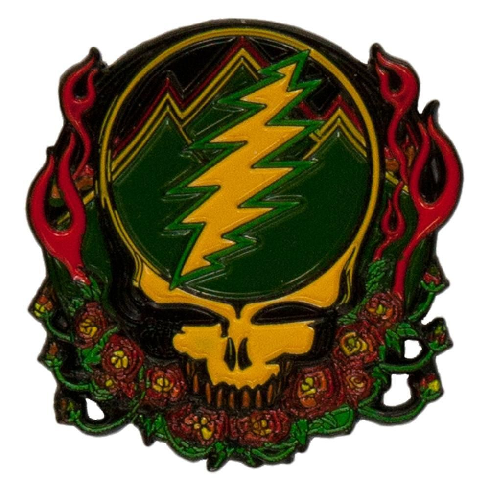 Grateful Dead's designs are timeless. Stealie stands out