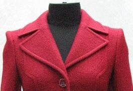 English collar coat