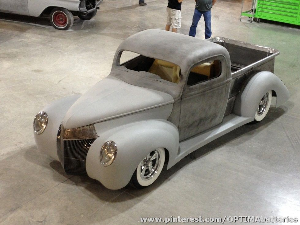 1940 Ford Truck Built By Chaotic Customs Powered By Optima Classic Trucks Ford Trucks New Trucks