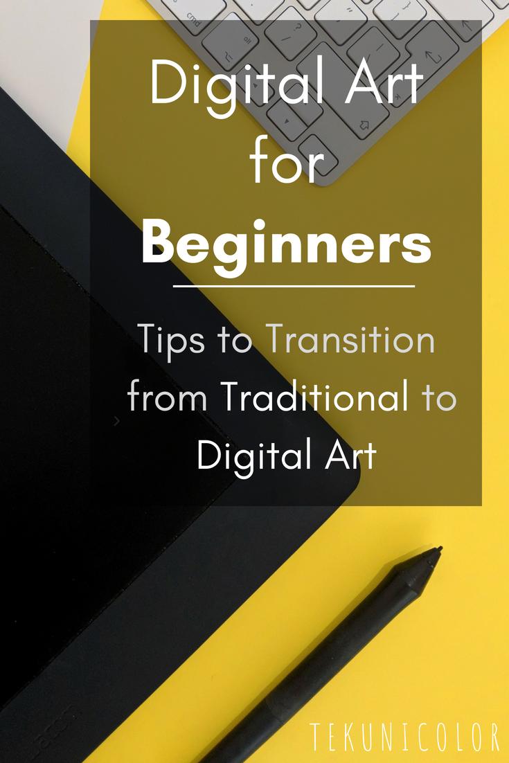 digital art for beginners tips to transition from traditional to digital art is part of Digital art beginner - Digital Art for Beginners   Tips to Transition from Traditional to Digital Art Digitalart Beginner
