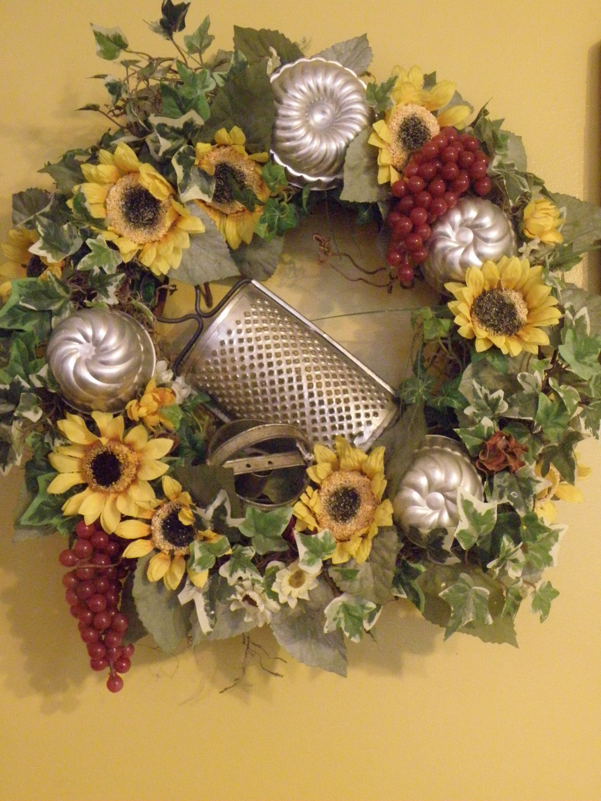 Kitchen Wreath Ideas
