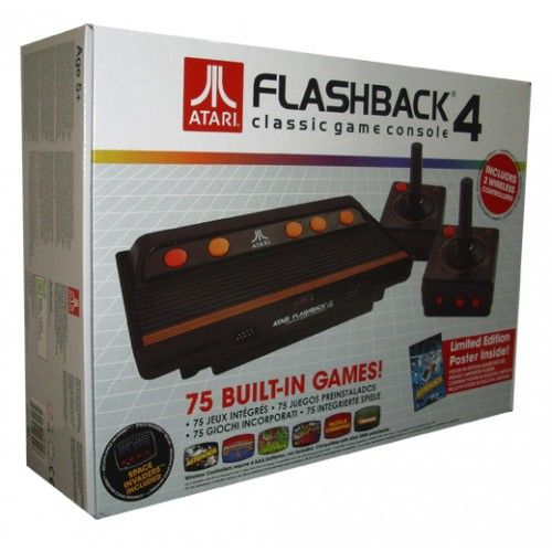 Consola ATARI (incluye 75 juegos)