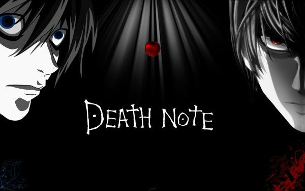 Death Note Light And L Wallpaper