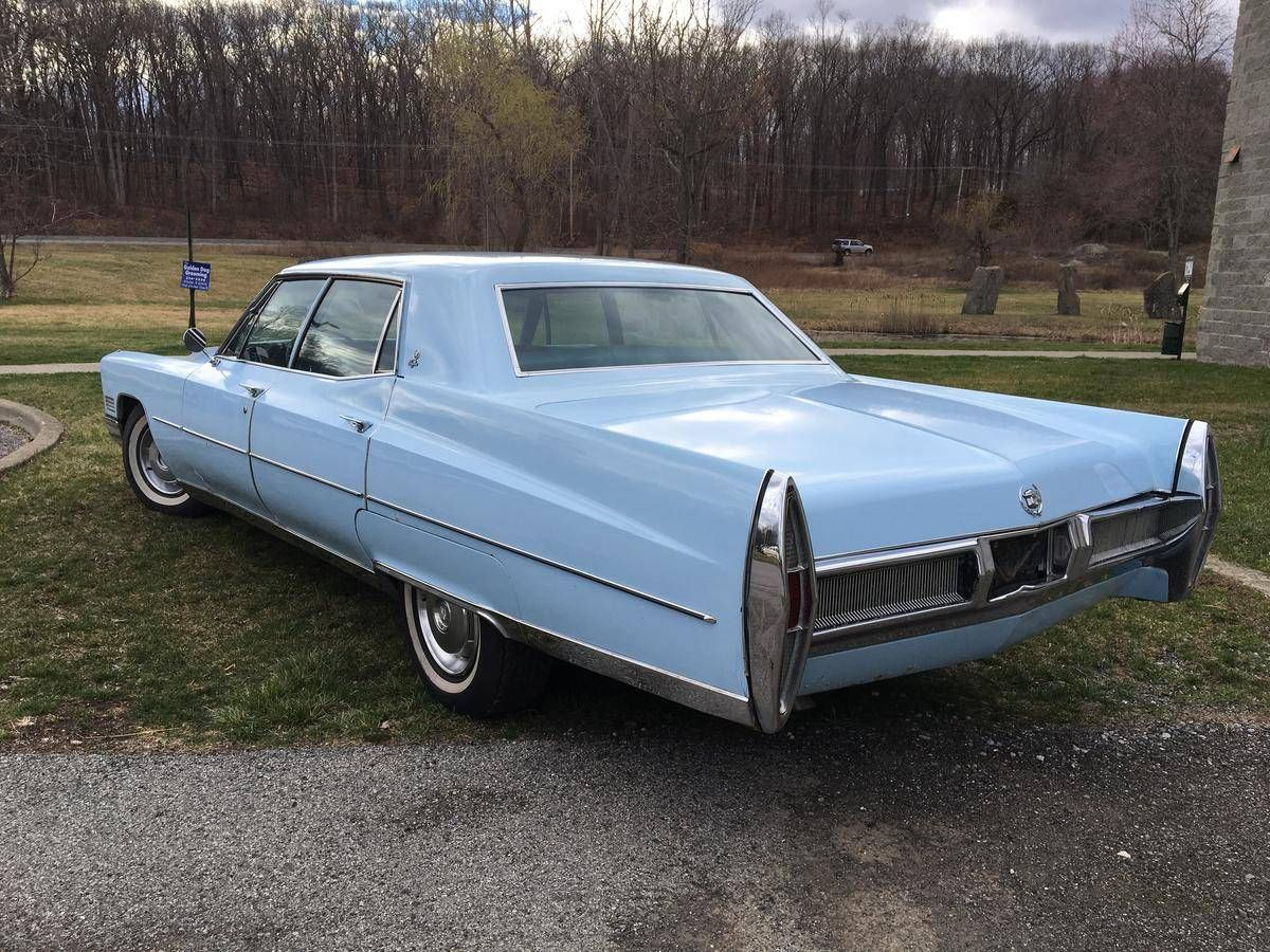 1967 cadillac brougham fleetwood for sale