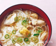 にゅうめん|ヒガシマル醤油 うどんスープレシピ